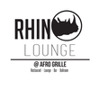 Rhino Lounge at Afro Grill Logo