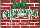 Shenanigans Irish Pub & Grille Logo