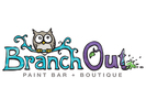 Branch Out Paint Bar Logo