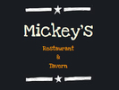 Mickey's Roadside Cafe Logo