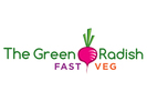 The Green Radish - Vegan Food Truck Logo