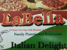 La Bella Italian Delight Logo