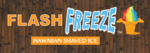 Flash Freeze Hawaiian Shaved Ice Logo