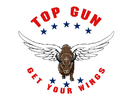 Top Gun Restaurant Logo