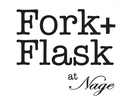 Fork + Flask At Nage Logo