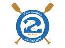Two Paddles Fish And and Grill Logo