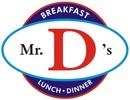 Mr D's Diner Logo