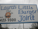 Laura's Little Burger Joint Logo