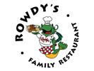 Rowdy's Family Restaurant Logo
