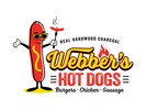 Webber's Hot Dogs Logo