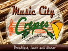 Music City Crepes Logo