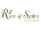 Rice and Spice Thai Cuisine Logo