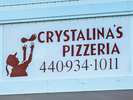 Crystalina's Pizzeria Logo