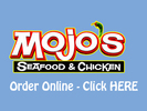 Mojo's Seafood & Chicken Logo