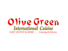 Olive Green International Cuisine Logo