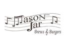 Mason Jar Brews and Burgers Logo