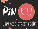 PinKU Japanese Street Food Logo