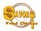 Savory Fried Chicken Logo