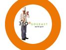 360 Gourmet Burritos Logo