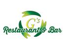 G's Restaurant & Bar Logo