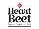 HeartBeet Organic Superfoods Cafe Logo