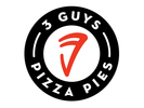 Three Guys Pizza Pies Logo