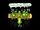 Crazy Frogs Saloon Logo