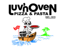 Luv'n Oven Pizza & Pasta Logo