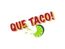 Que Taco Logo