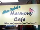 Miss Robin's Harmony Cafe Logo
