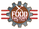 Food Factory craft Diner Logo