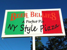 Beer Bellies: A Perfect Pie Pizza Logo