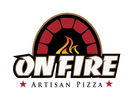 On Fire Pizza Logo