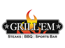 Grill Em Steak House & Sports Bar Logo