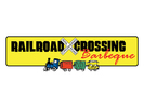 Railroad Crossing BBQ Logo