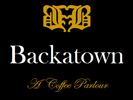 Backatown: A Coffee Parlour Logo