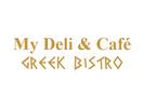 My Deli & Café: Greek Bistro Logo