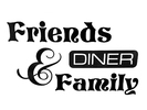 Friends and Family Diner Logo
