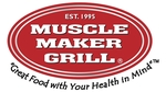 Muscle maker grill logo white text 0