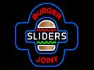 Sliders Burger Joint Logo