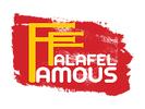 Famous Falafel Mediterranean Cuisine Logo