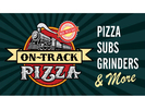 On Track Pizza Logo