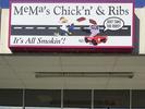 MeMa's Chick 'n' & Ribs Logo