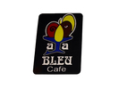 Aja Bleu Cafe Logo