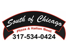 South of Chicago Pizza and Beef Logo