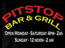 Pitstop Bar and Grill Logo