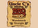 Uncle C's Bar-B-Que Logo