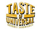 Taste of Universal Gourmet Sandwiches Logo
