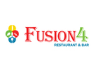 Fusion4 Restaurant and Bar Logo