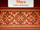 Maya Indian Restaurant Logo